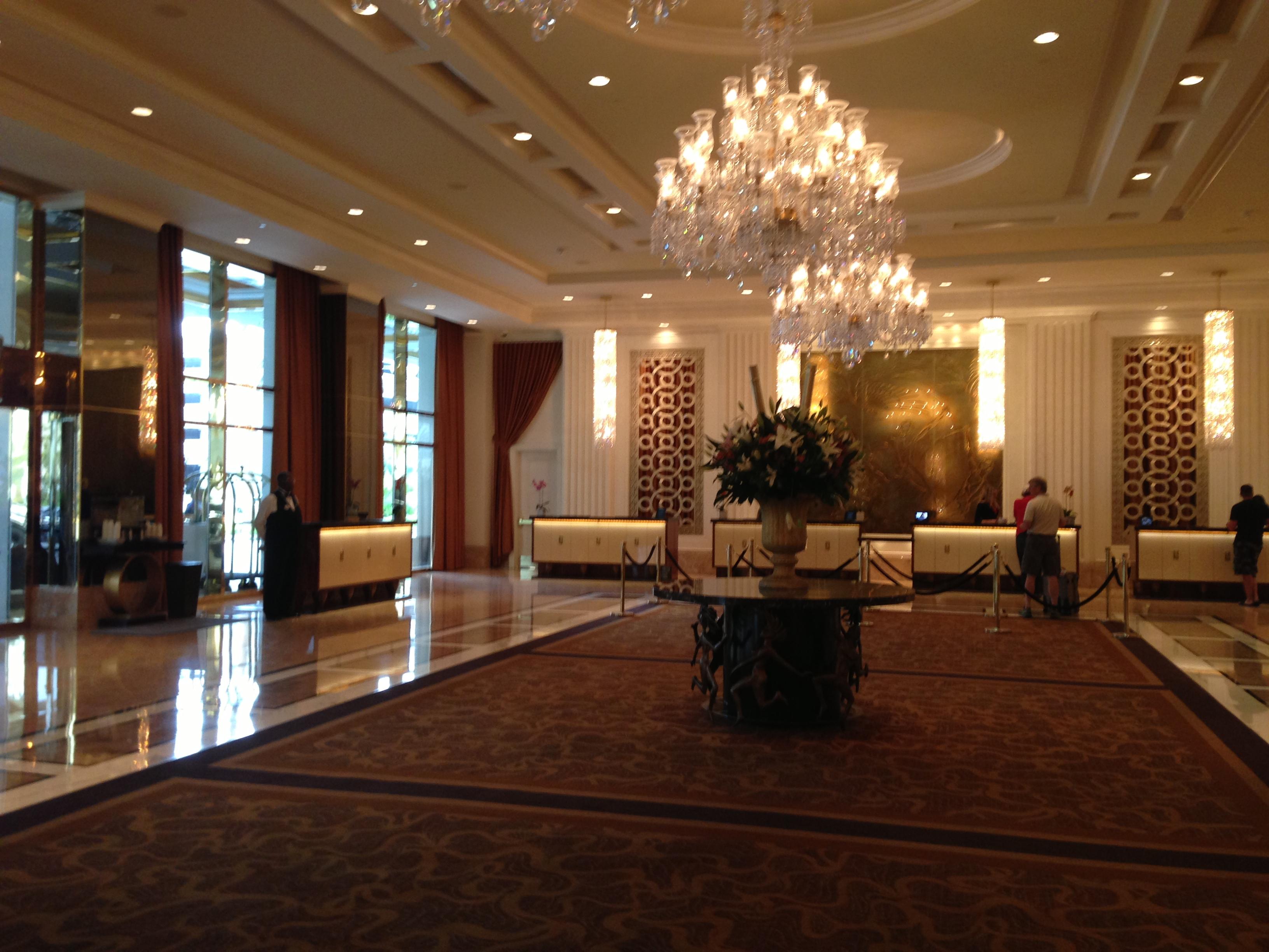 Las Vegas Trump International Hotel All The Glitz