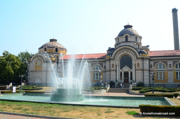 The Central Baths (Tsentraina Bania), Sofia, Bulgaria