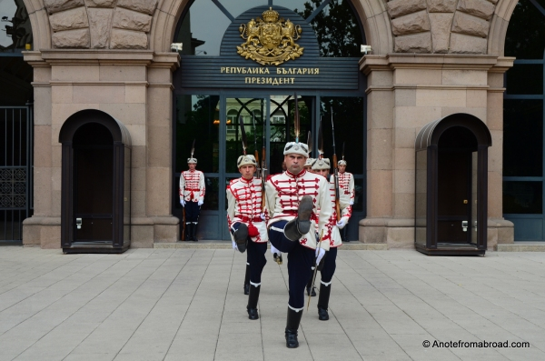 Changing of the guard - Presidential Palace