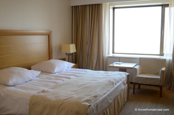 Our room - Kempinski Hotel Zografski Sofia