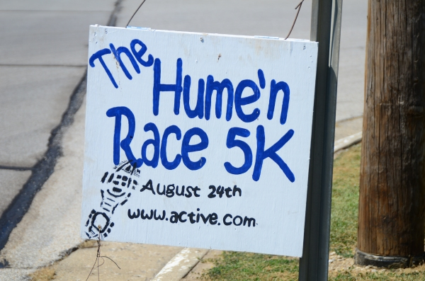 The Hume'n 5K Race