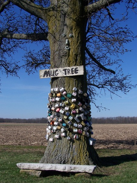 The Mug Tree - photographer unknown