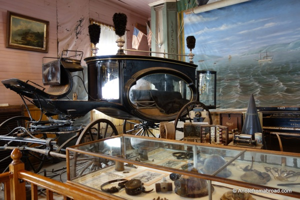 Inside Bodie Museum
