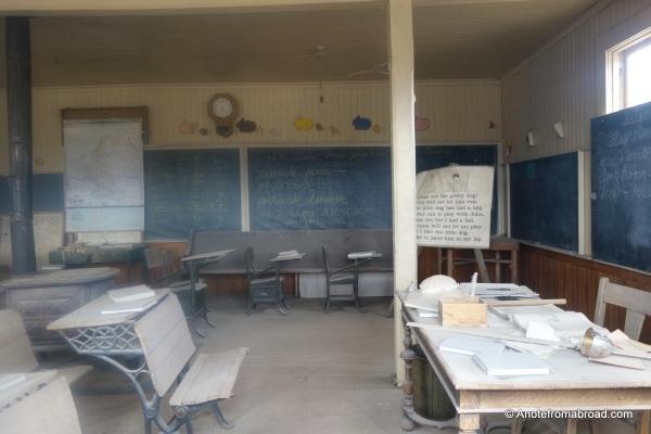 Inside the Bodie School