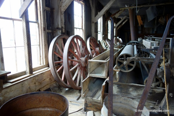 Inside stamp mill