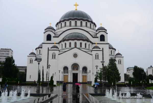 The Cathedral of Saint Sava