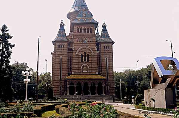 Metropolitan Orthodox Cathedral, Timisoara, Romania