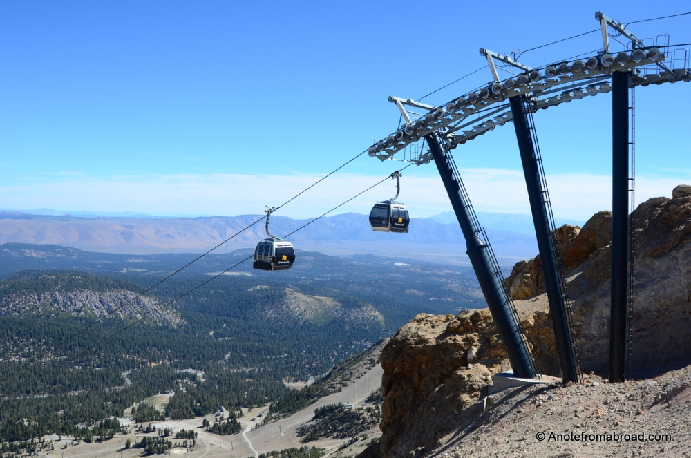 MAMMOTH LAKES - 10 things to do when there is no snow (4/6)