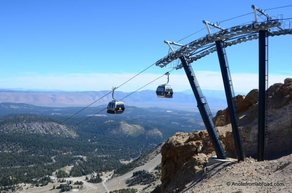 Tram to the top of the mountain