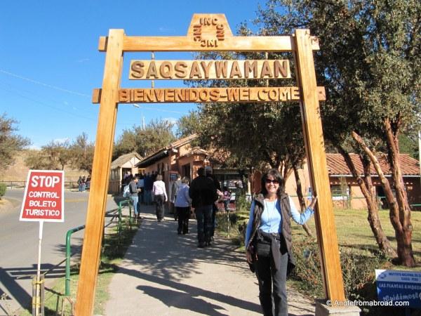 Saqsaywaman entrance