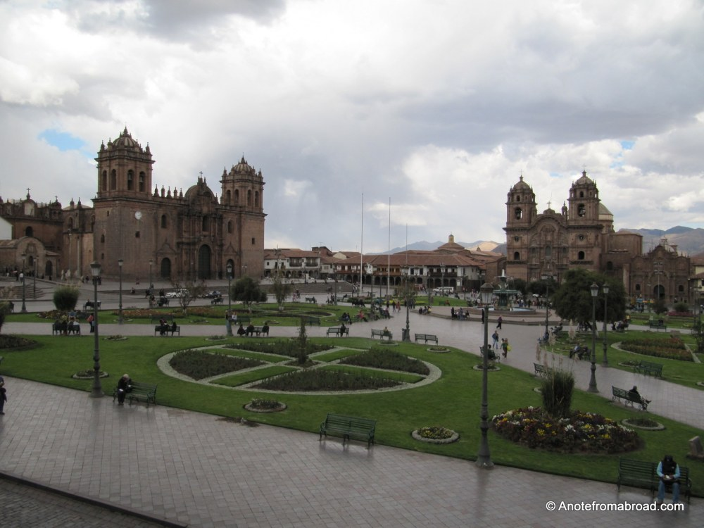 PERU - The city of Cusco, UNESCO World Heritage Site, colorful, vibrant, welcoming (4/6)