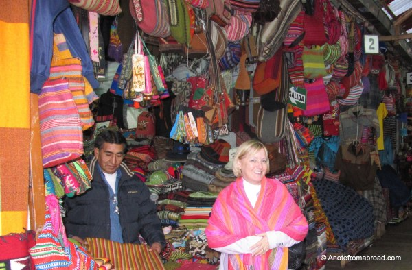 Woven goods and bargains to be had