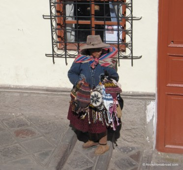 Woman dressed in traditional clothing
