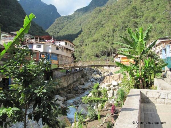 Aguas Calientes on the Urubamba River