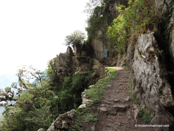 Trail to Inca Bridge