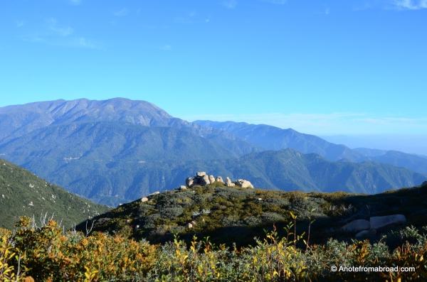 View from Keller Peak