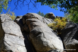 Massive boulders along the hike