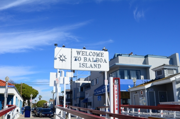 Welcome to Balboa island