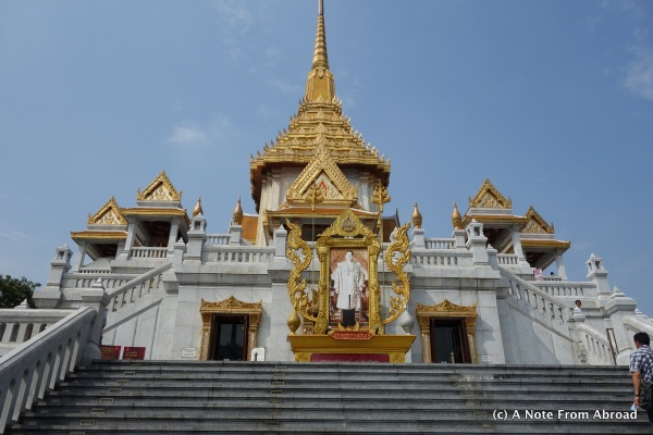 Temple that housed the Golden Buddha