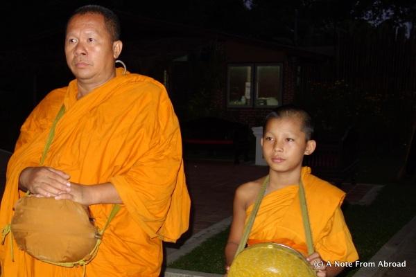 Monks in Sukhothai