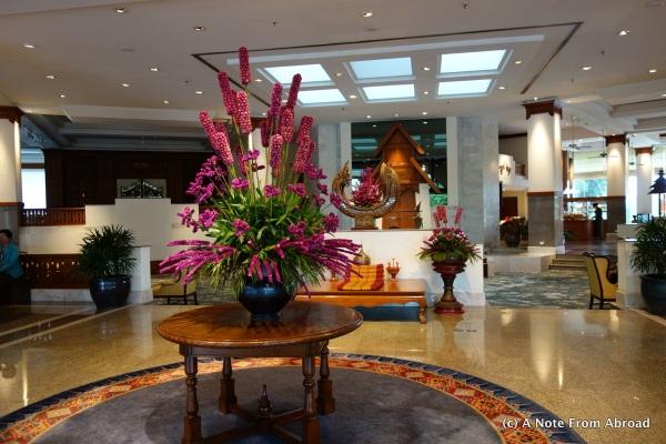 Lobby Dusit Island Resort Hotel