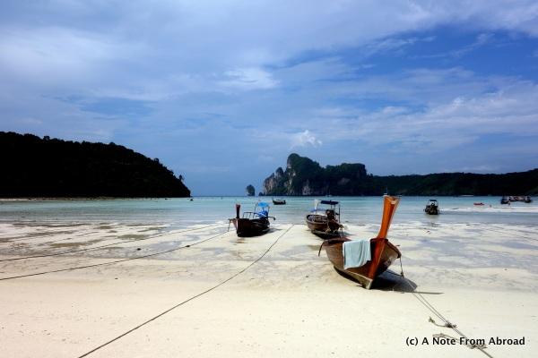 Low Tide, Phi Phi Island