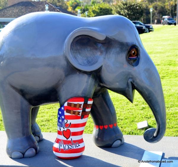 Mosha - the inspiration for Elephant Display