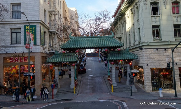 Dragon Gate - entrance to China Town