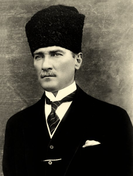 Atatürk - A very charismatic and handsome man