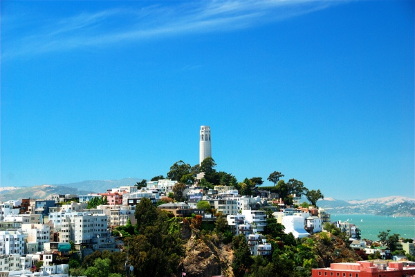 Coit Tower - photo courtesy of Pinterest