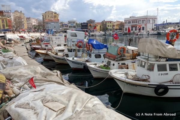 Gallipoli, fishing village, lunch stop