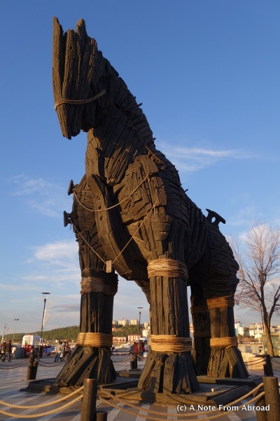 "Trojan Horse from the movie, ""Troy"""