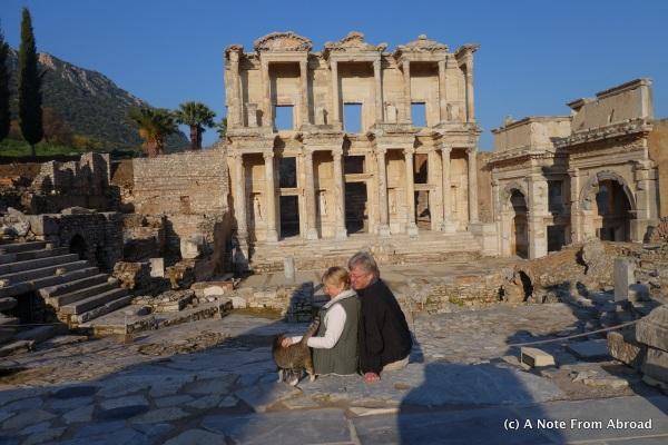 Library ruins at Epheses