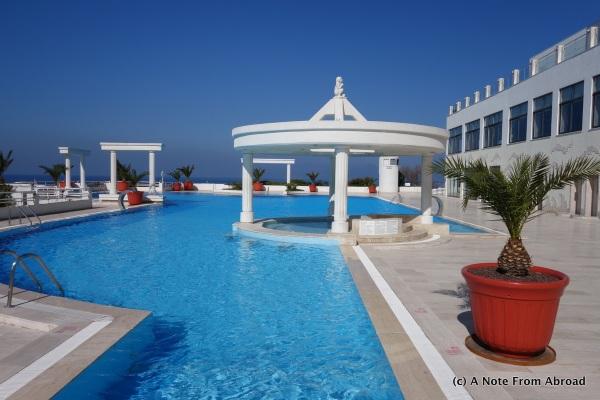 Pool at our hotel - KoruMar