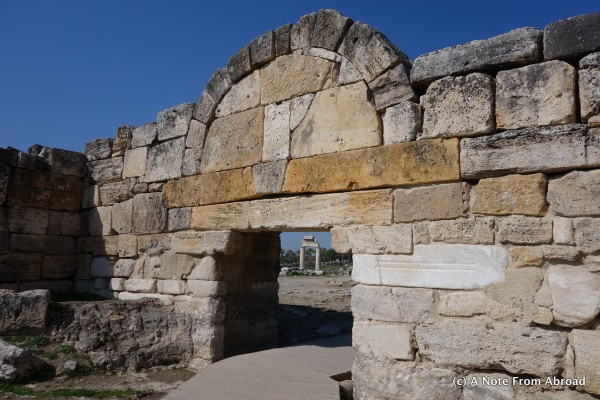 North gate of