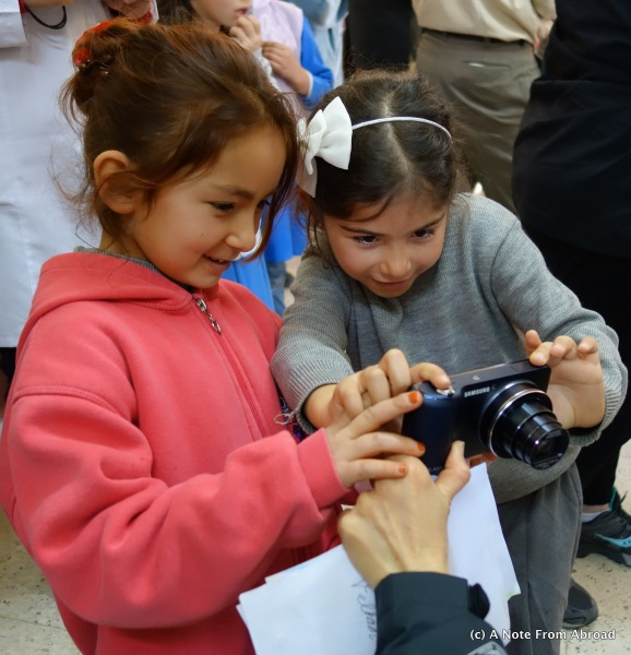 Budding photographers