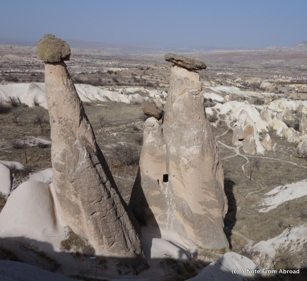 Fairy Chimney formation - Three Graces