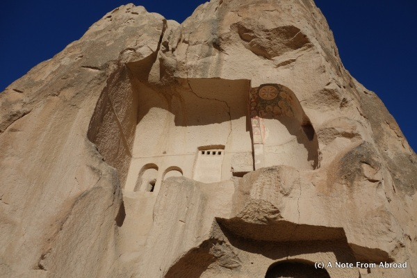 Church carved into the side of a rock