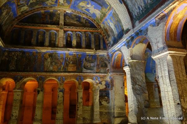 Tokali Church Interior