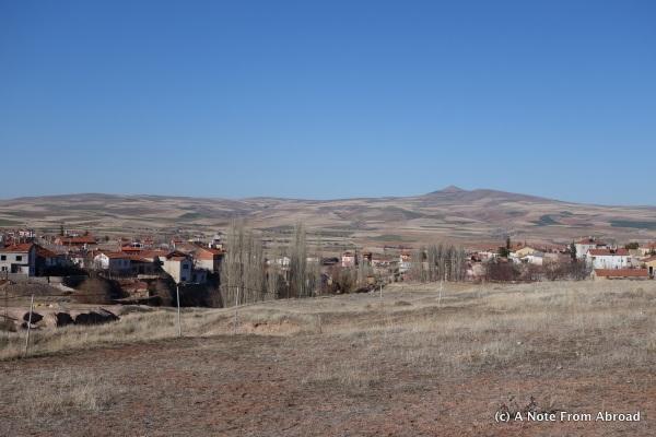 Ozkanak area with huge city hidden underneath