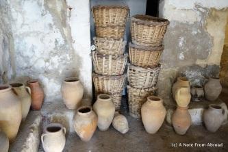 Underground ceramic factory