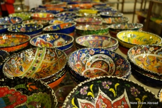 Sample of bowls to choose from