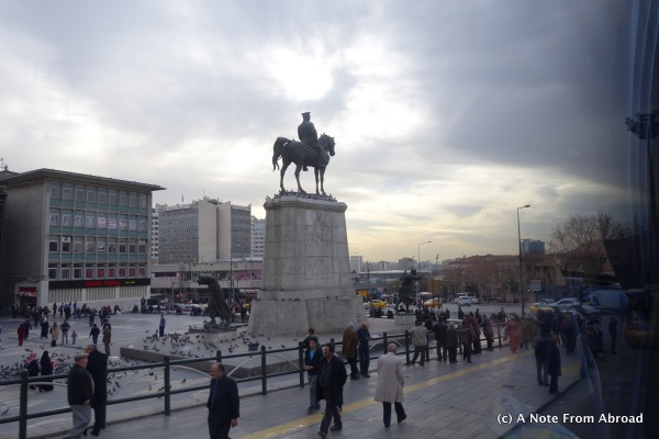 Monument in Ankara