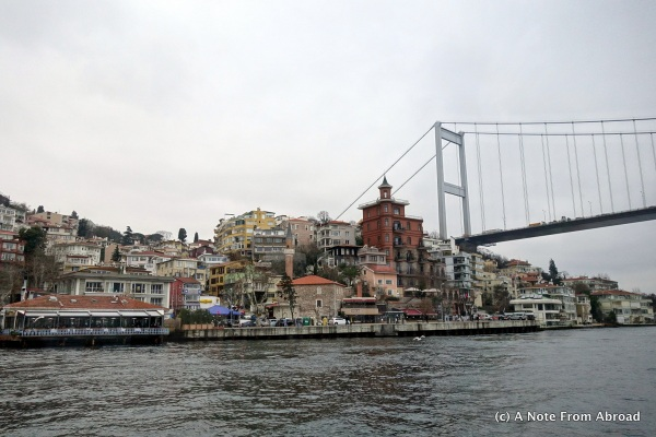 Along the shore of the Bosphorus - Europe side