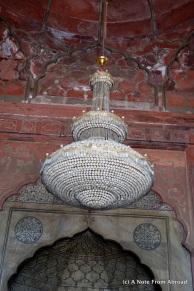Chandelier in Jama Masjid