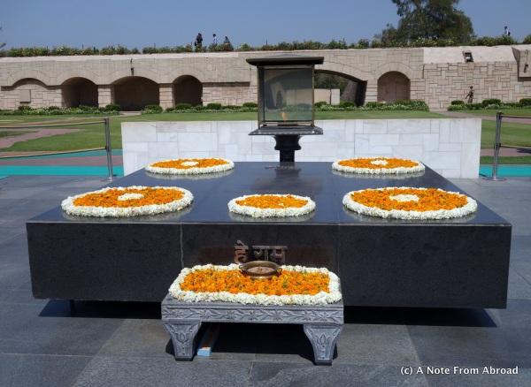 Memorial to Mahatma Ghandi