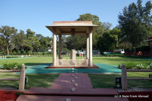 Place where Gandhi was killed