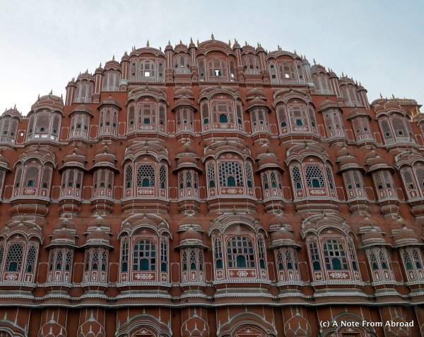 Hawa Mahal - Ornate architecture in Jaipur