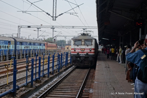 The Shatabdi Express Train