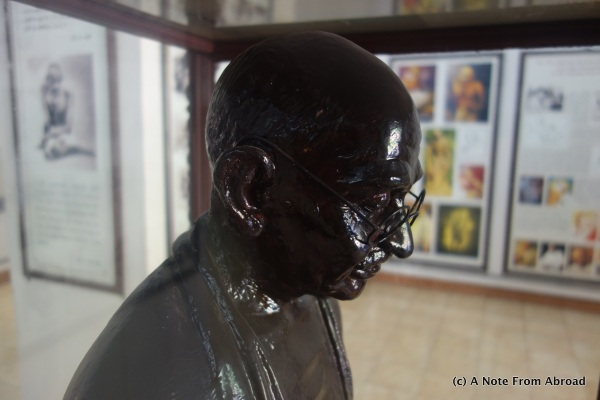 Bust of Mahatma Gandhi